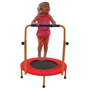 Redmon Mini Trampoline For Kids With Adjustable Handle Bar