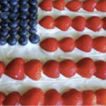 Stars and Stripes Dessert: Simply Delicious
