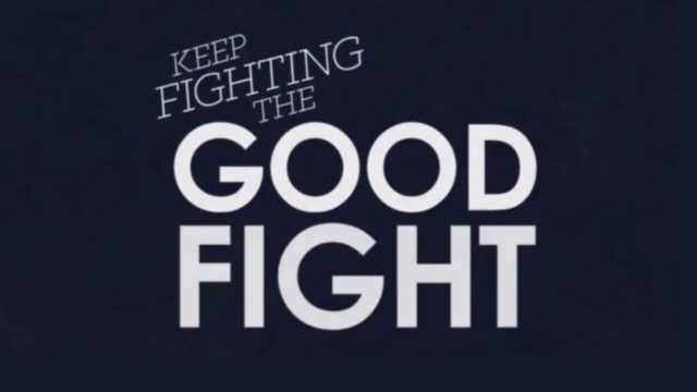 Keep fighting the good fight.
