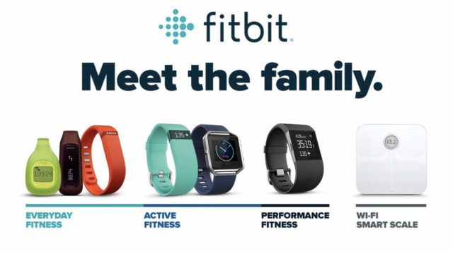 Fitbit. Meet the family.
